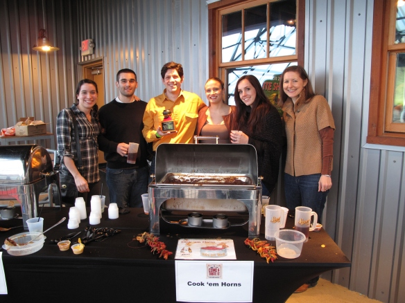 The Taverna lab at a recent chili cook off.  Sean's chili won first place!